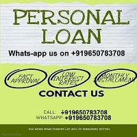 We provide the best loan at low rate 3%